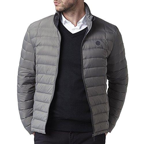 Henri Lloyd MO200001 Cabus Lightweight Down Hood Jacket XX-Large Mid-Grey