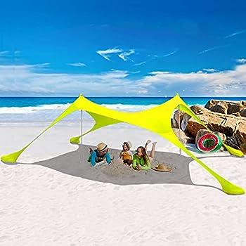 Harbland 7' x 7' UPF 50+ Popup Beach Tent