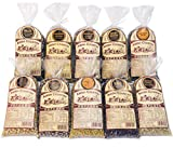 Amish Country Popcorn - 10 (1 Lb Bag) Variety Gift Set Bundle with Recipe Guide (Red, Blue, Medium...