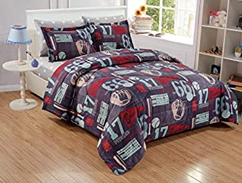 queen size baseball bedding