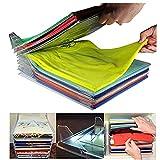 Système de rangement de vêtements empilable, rangement pour chemises, taille normale, 10 boîtes