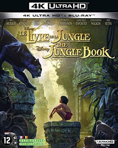 Džungļu grāmata [4K Ultra HD + Blu-Ray]