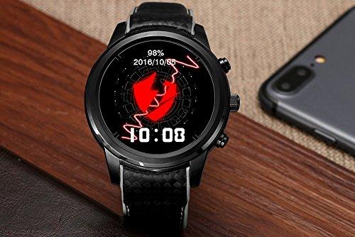 lemfo Smart Watch Android 5.1mtk6580Quad Core 1GB/8GB 3G Wifi GPS Herzfrequenz Monitor Handy Smartwatch für anrioid IOS
