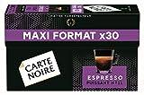 Carte Noire Café Espresso Puissant N°11 Capsules Compatibles Nespresso, 30 capsules