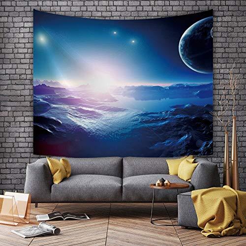 JXGG Wandmalerei schöne Sternenhimmel Tapisserie Wohnzimmer Schlafzimmer digital...