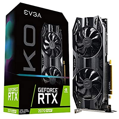 EVGA GeForce RTX 2070 Super KO Gaming, 08G-P4-2072-KR, 8GB GDDR6, Dual Fans