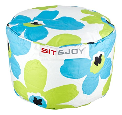 Sit & Joy Zitzak Small Dot 55cm aqua / lime (DSS-DS03857)