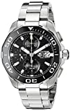 TAG HEUER MEN'S AQUARACER STEEL BRACELET & CASE AUTOMATIC WATCH CAY211A.BA0927
