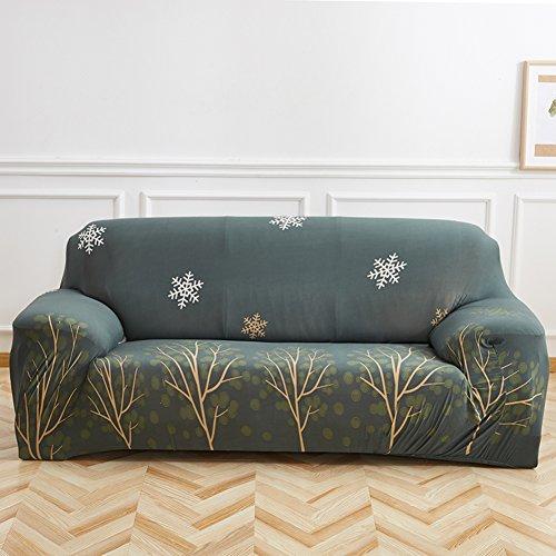 FDJKGFHGFCGDFGDG Sofa slipcover elástico,Cubierta Antideslizante del sofá Sofá de Cuero combinación Universal Cubre Cubrir Tela Cuatro Estaciones sofá Cubierta Mat-O sofás de Dos plazas
