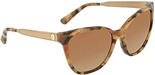 0d405477e43 Michael Kors MK2058 331113 Brown Marble Butterfly Sunglasses for Womens