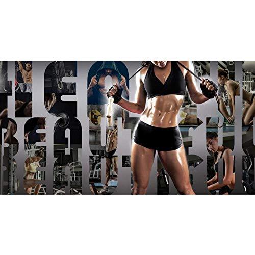 3D Muurschildering Sport Gym Shop Landschap Fotobehang, Slaapkamer Muurpapier Muurdecoratie 280 cm (B) x 180 cm (H)
