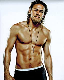 """Best Sons of Anarchy Charlie Hunnam as Jackson """"Jax"""" Teller Shirtless HOT 8 x 10 Photo Review"""
