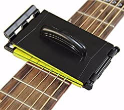 Dual Guitar String and Fretboard Cleaner Maintenance Care for Guitar/Bass/Mandolin/Ukulele (Yellow)