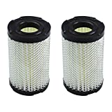 <span class='highlight'><span class='highlight'>LOCOPOW</span></span> Lawn Mower Air Filter for Tecumseh 35066 for Sears 63087A for Oregon 30-301 for John Deere AM123992 for ECV100 ECV120 LEV90 LEV100 LEV115 Small Engine (2 PC)