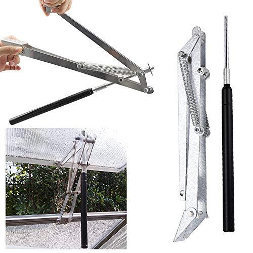 Vingo - Abridor automático de ventanas de aluminio y zinc para invernadero, para el techo, el jardín