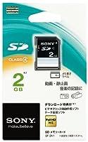 SONY SDメモリーカード 2GB Class4 SF-2N1