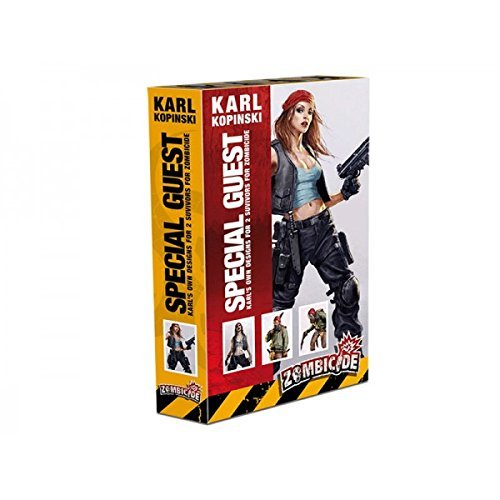 Cool Mini or Not Zombicide Karl Kopinski Characters Board Game