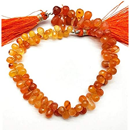 9 Inch Long Strand Truly Rare Quality CARNELIAN Faceted Larger Size Faceted Rondells, 9-10mm