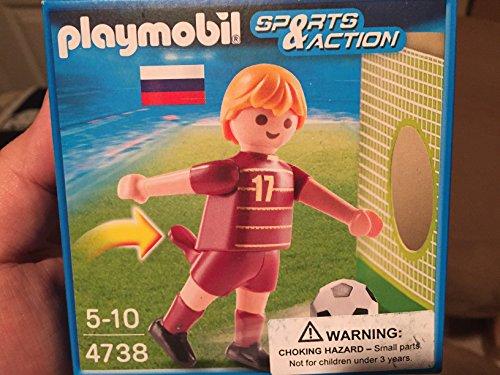 geobra brandstätter gmbh & co. kg playmobil 4738 Jugador de Futbol Rusia