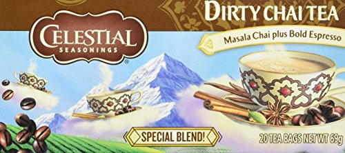 Celestial Seasonings Dirty Chai, 6er Pack (6 x 69 g)