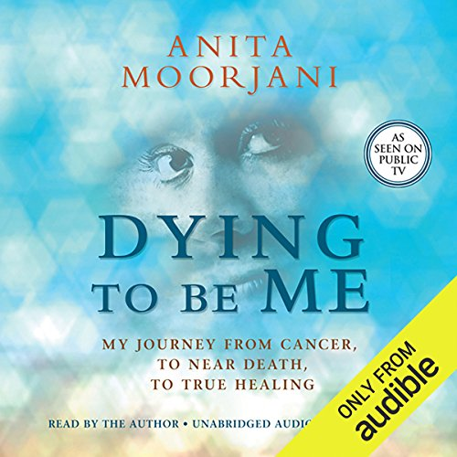 Dying to Be Me audiobook cover art