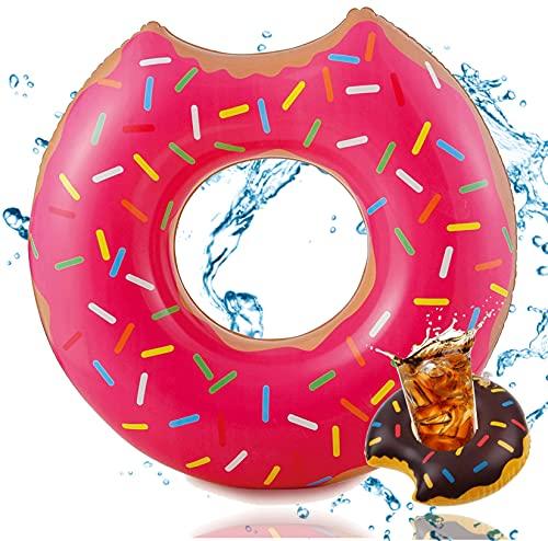 Ciambella gonfiabile morsa Ø 120 cm anello da nuoto galleggiante materasso ad aria cuscino...
