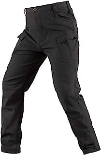 YuanDian Uomo Militari Tattici Mimetici Pantaloni Softshell Fodera in Pile Caldo Outdoor Escursionismo Combat Trekking Alp...