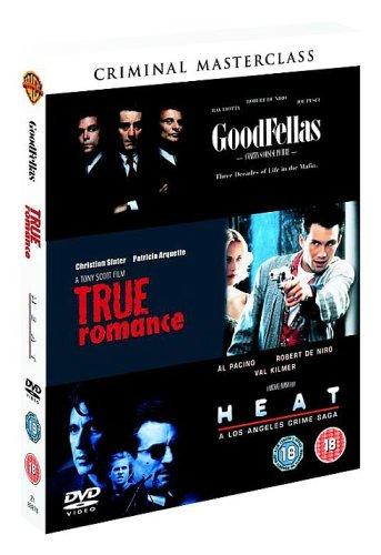 Goodfellas / Heat / True Romance [DVD]