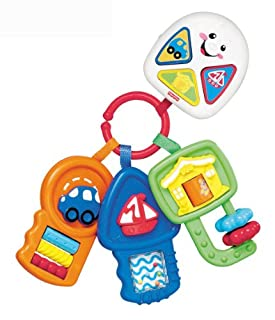 Fisher-Price - Llavero Aprendizaje, Desarrollo de Habilidades motoras (Mattel H2244) (B0062DG6A2) | Amazon price tracker / tracking, Amazon price history charts, Amazon price watches, Amazon price drop alerts