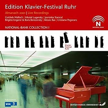Almanach 2001 (Edition Ruhr Piano Festival Vol. 1-8) (Live)