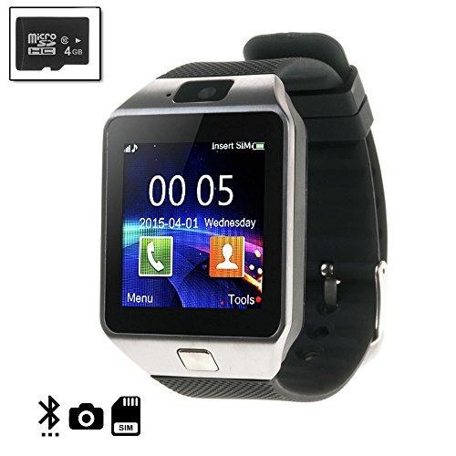 Silica DMN235SD4 Tekkiwear Dames smartwatch n235 met Micro SD 4 GB klasse 4, zilver