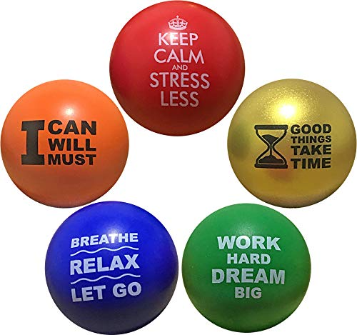 Motivational Stress Balls for Kids and Adults