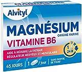 Alvityl - Magnésium + Vitamine B6 - Origine marine - Aide à réduire la...