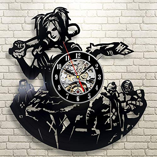 51jQzJxLBdL Harley Quinn Clocks