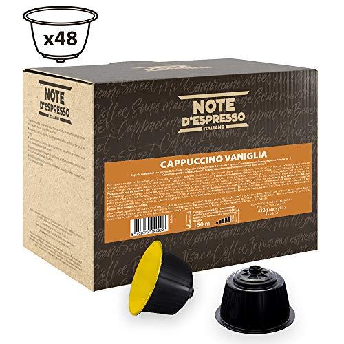 Note D\'Espresso Cápsulas de Capuchino con Vainilla - 48 x 9 g, Total: 432 g