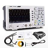 OWON SDS1202 Oscilloscopio,Oscilloscopio di memorizzazione digitale,2 canali 200Mhz larghezza di banda USB Oscilloscopi 1GS/s
