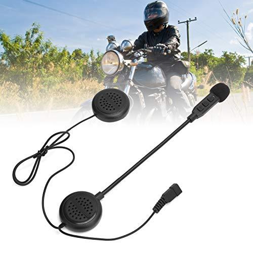 ROMACK Auriculares para Casco con Cierres de Gancho y Bucle Auriculares, para Motocicleta, para Ciclismo