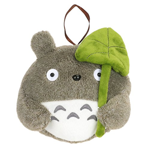 CoolChange Totoro de Peluche con Hoja de Loto