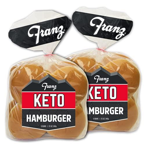 Keto Hamburger Buns (16ct) with Keto Lifestyle Guide