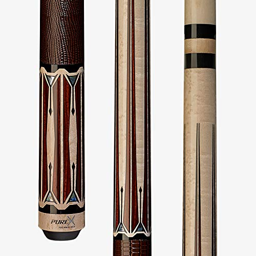 Players HXTE4 PureX Technology Billiard Pool Cue 19 oz Kamui Tip Natural Birdseye Maple
