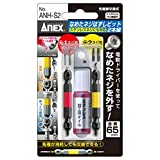 アネックス(ANEX) なめたネジはずしビット 2本組 M2.5~5 ステンレスビス対応 赤・黄 ANH-S2
