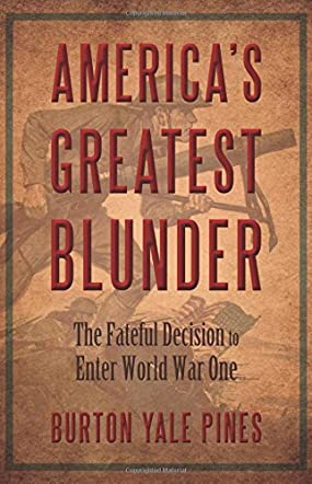 America's Greatest Blunder