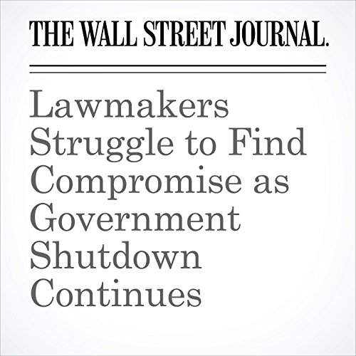 Lawmakers Struggle to Find Compromise as Government Shutdown Continues copertina