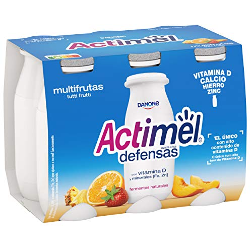 Actimel Multifrutas 6x100 g