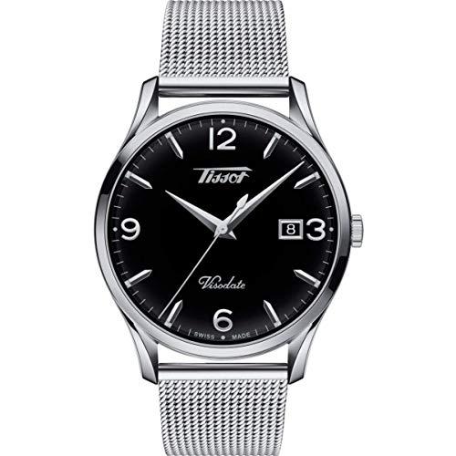 Tissot Reloj Analógico para Hombre de Cuarzo con Correa en Acero Inoxidable T1164101105700