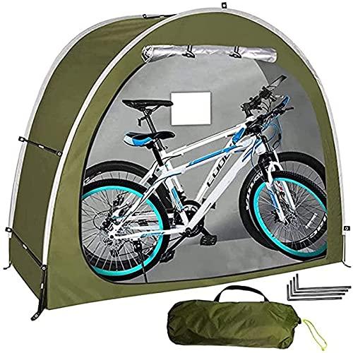 Carpa para Bicicletas con Diseño De Ventana para 2 Adultos. Bicicletas Bodega De Bicicletas. Elimina El Polvo Y Es Resistente Al Agua para Uso En Exteriores. Patio Trasero De Camping