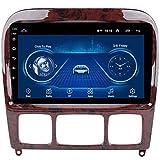 HWENJ Autoradio Android8.1 9 '' Lecteur Multimédia De Navigation GPS avec Canbus pour Mercedes Benz Classe S W220 W215 S280 S320 S400 S500 Prise en Charge BT/SWC/Lien Miroir/DVR