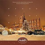 Stralsunder Marzipan Adventskalender 2020 Ideal als Geschenk Marzipankalender für die Adventszeit