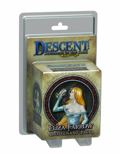 Descent Second Edition: Eliza Farrow Lieutenant Miniature