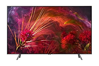 "Samsung QN65Q8FNBFXZC Flat 65"" QLED 4K Ultra HD Smart TV (2018), Carbon Silver [Canada Version] (B07DW8KK14) 